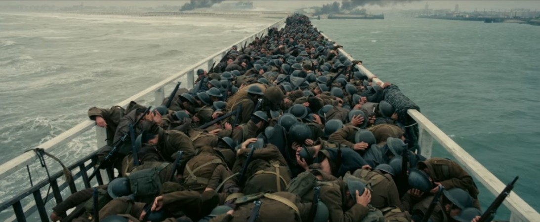 Dunkirk (2017, USA, UK, France, d. Christopher Nolan, 106 minutes)