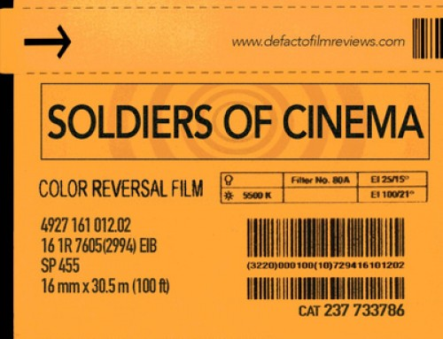 Defacto Film Reviews Presents: Soldiers of Cinema Podcast EP. 1